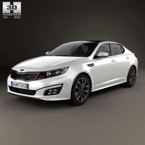 Kia Optima 2015 - 3DOcean Item for Sale