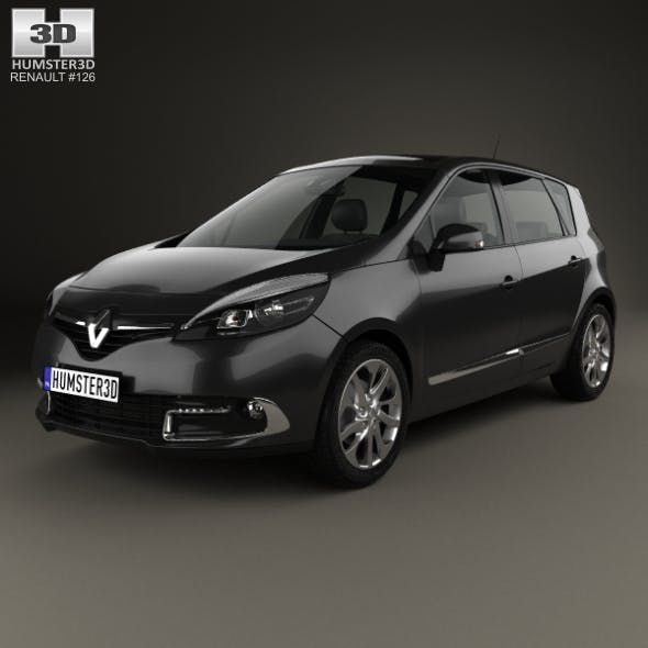 Renault Scenic MPV 2013 - 3DOcean Item for Sale