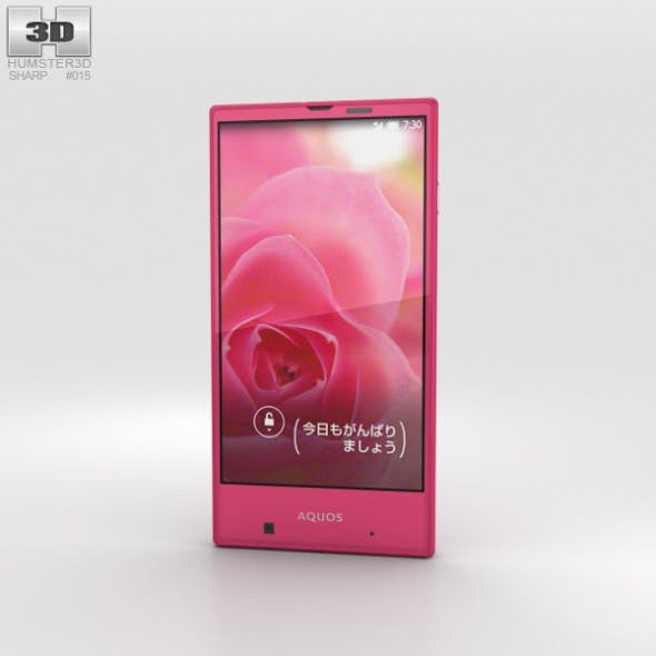 Sharp Aquos Serie mini SHV31 Pink