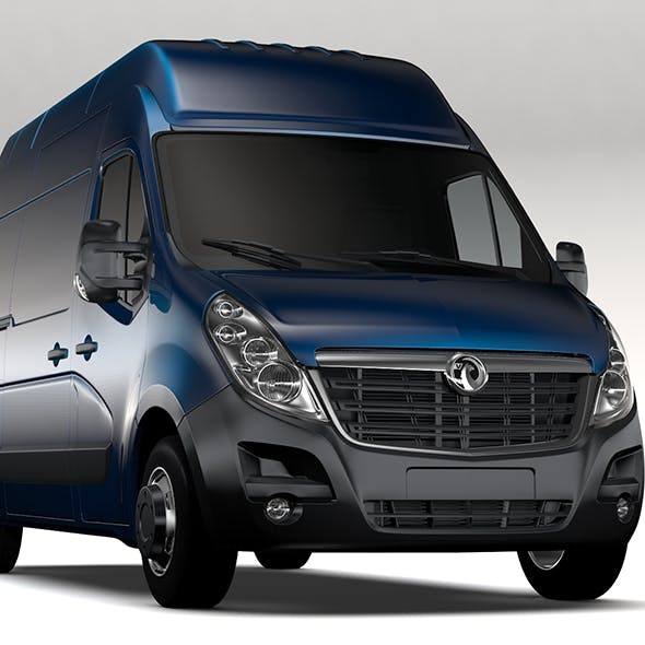 Vauxhall Movano L2H3 Van 2016