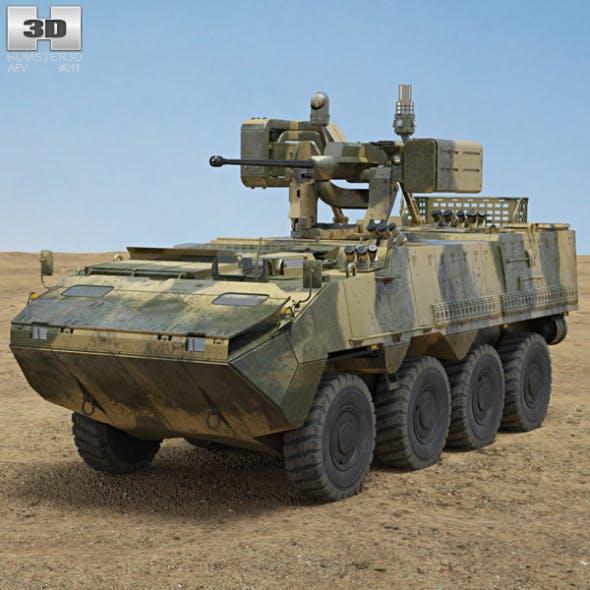Pandur II 8X8 APC - 3DOcean Item for Sale
