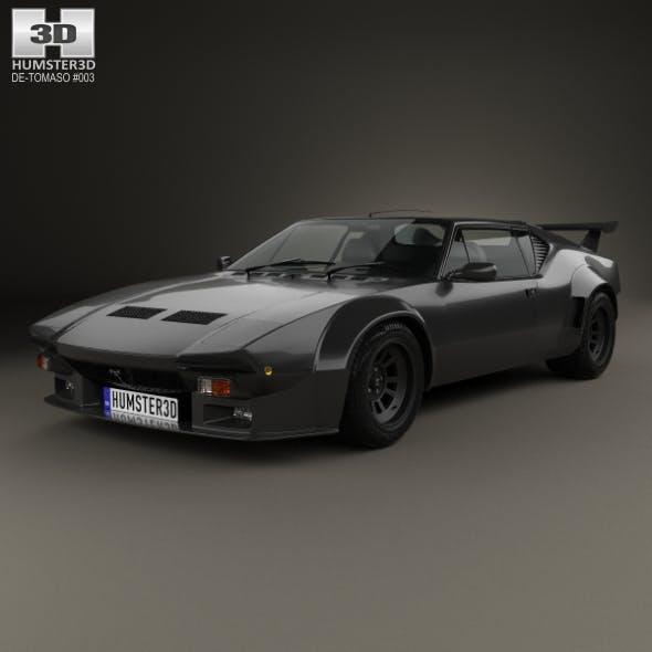 De Tomaso Pantera GT5-S 1984 - 3DOcean Item for Sale