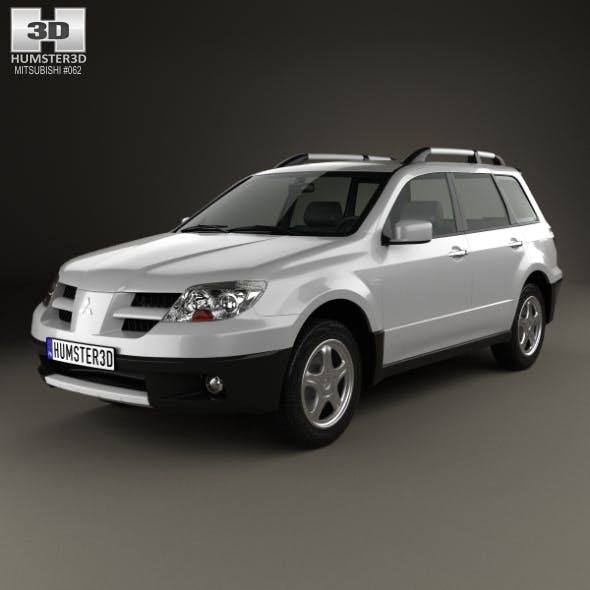 Mitsubishi Outlander 2003 - 3DOcean Item for Sale