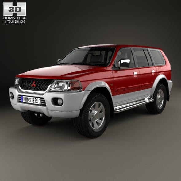 Mitsubishi Pajero Sport 1996 - 3DOcean Item for Sale