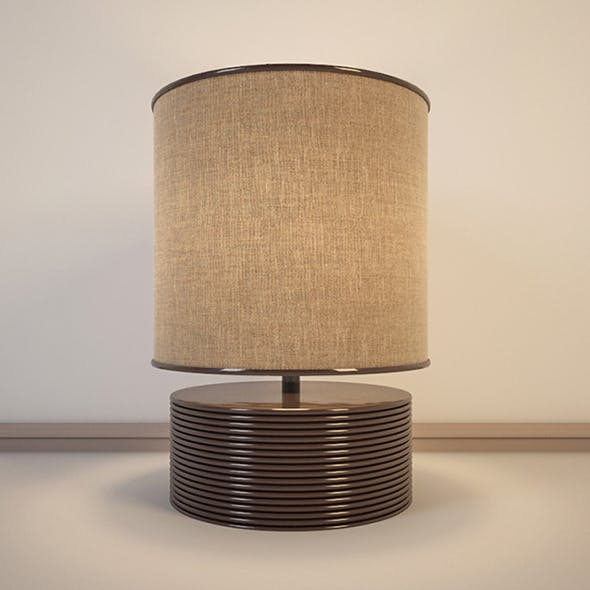 Vray Ready Modern Table Lamp