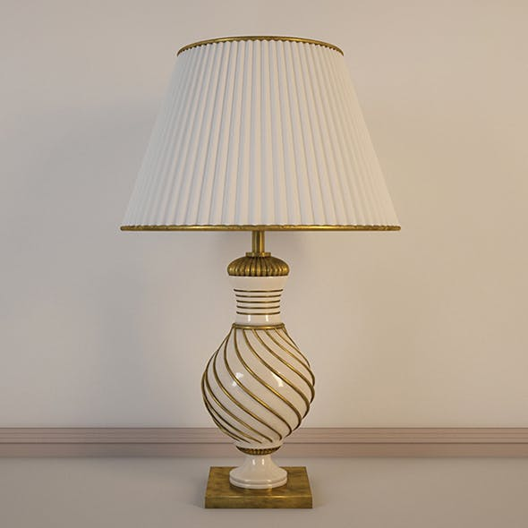 Vray Ready Decorative Table Lamp - 3DOcean Item for Sale