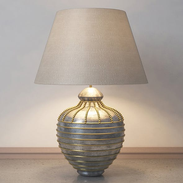 Vray Ready Luxury Table Lamp - 3DOcean Item for Sale