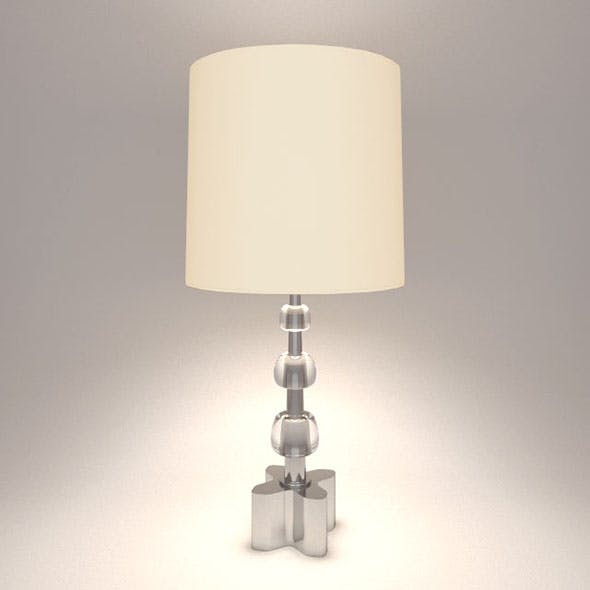 Vray Ready Table Lamp - 3DOcean Item for Sale