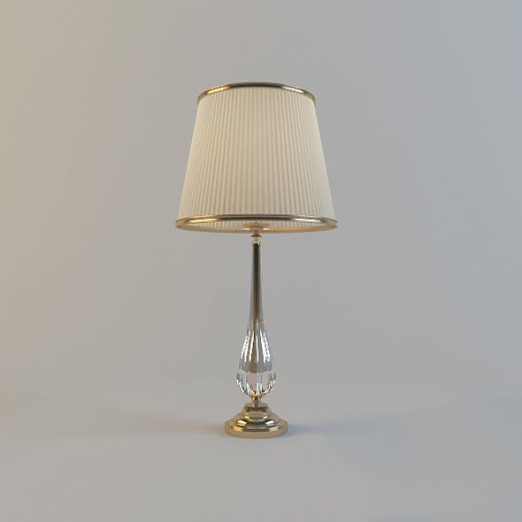 Vray Ready Beautiful Table Lamp