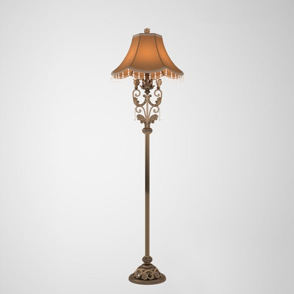 Vray Ready Beautiful Floor Lamp