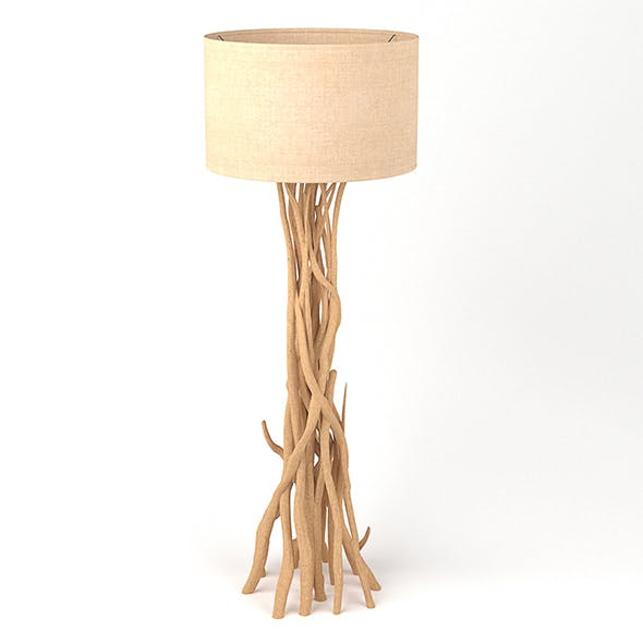 Vray Ready Modern Floor Lamp