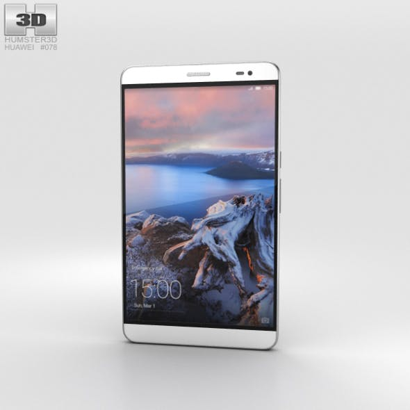 Huawei MediaPad X2 Moonlight Silver - 3DOcean Item for Sale