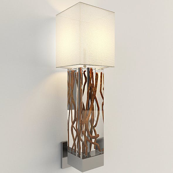 Vray Ready Wall Lamp - 3DOcean Item for Sale