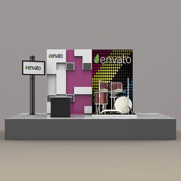 Stall Design 3 - 3DOcean Item for Sale