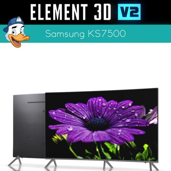 Samsung KS7500 for Element 3D
