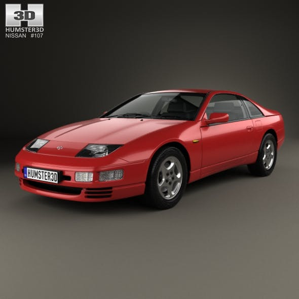 Nissan 300ZX (Z32) 2 seater 1989 - 3DOcean Item for Sale