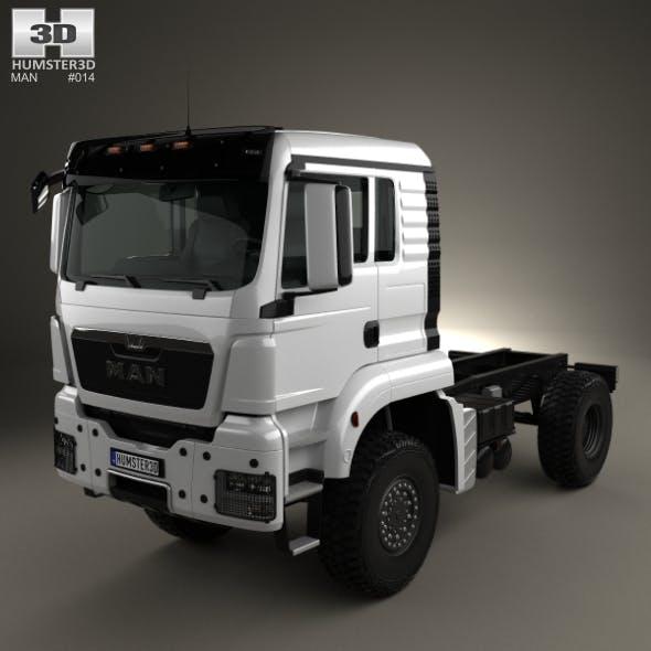MAN TGS 4×4 L cab Tractor Truck 2007