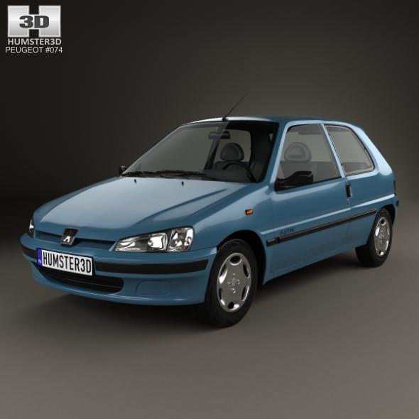 Peugeot 106 Electric 3-door 1993 - 3DOcean Item for Sale