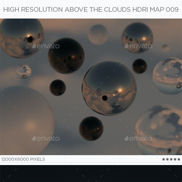 High Resolution Above The Clouds HDRi Map 009