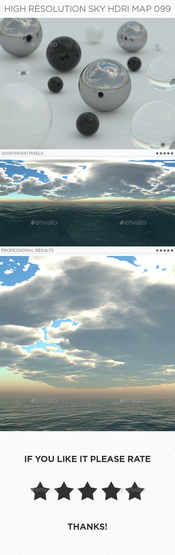 High Resolution Sky HDRi Map 099 - 3DOcean Item for Sale