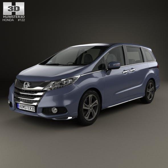 Honda Odyssey Absolute 2013 - 3DOcean Item for Sale