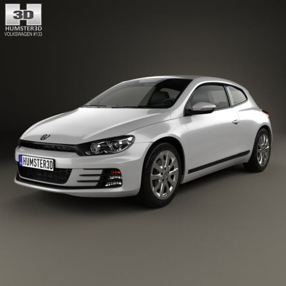 Volkswagen Scirocco 2015 - 3DOcean Item for Sale