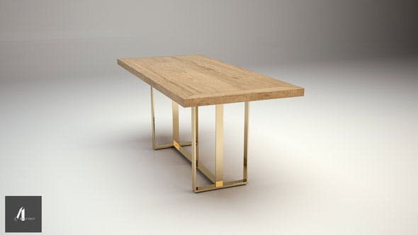 Dinner table - 3DOcean Item for Sale