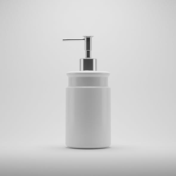 Soap Bottle - 3DOcean Item for Sale