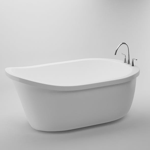 Bathtub - 3DOcean Item for Sale