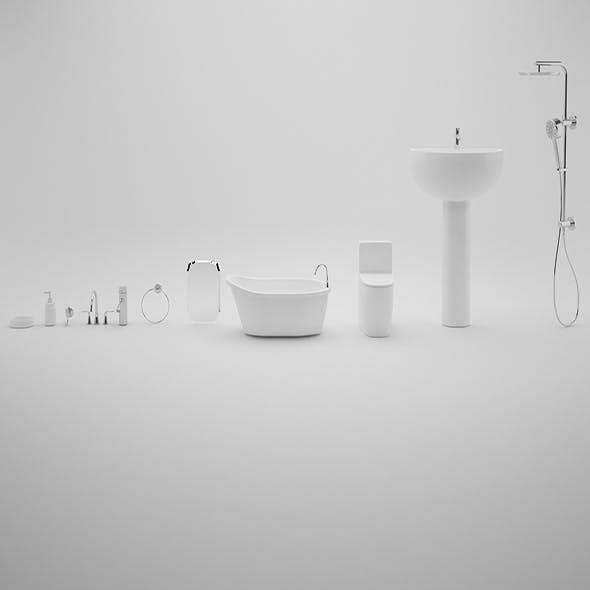 Bathroom Pack - 3DOcean Item for Sale