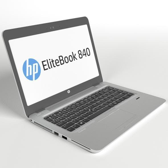 HP EliteBook 840 G3 customizable laptop - 3DOcean Item for Sale
