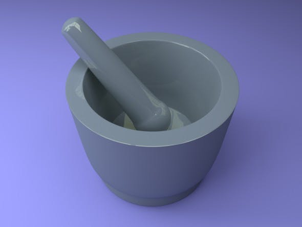 Mortar,pounder - 3DOcean Item for Sale