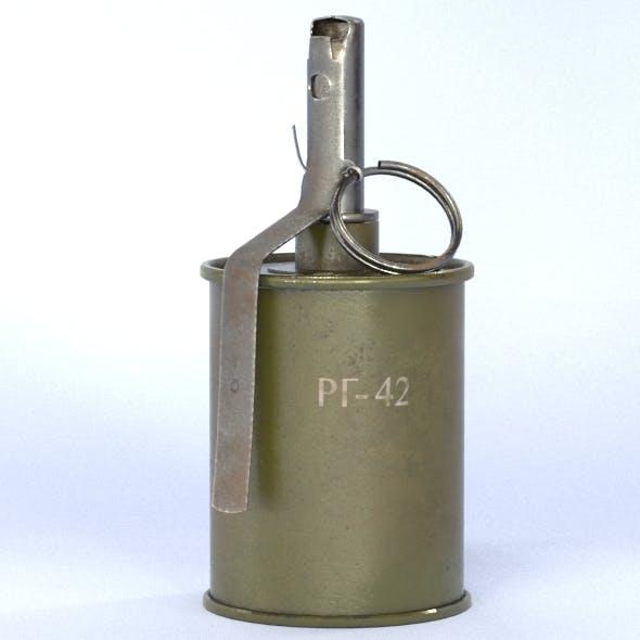 RG-42 grenade - 3DOcean Item for Sale