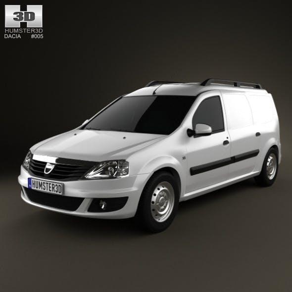 Dacia Logan Van 2011 - 3DOcean Item for Sale