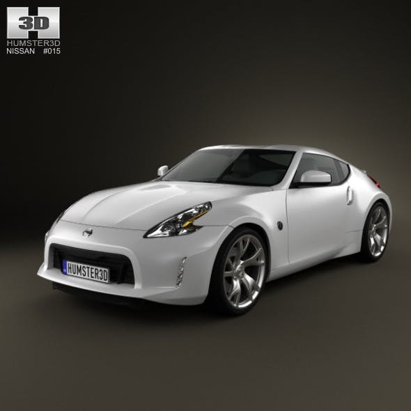 Nissan 370Z Coupe 2013 - 3DOcean Item for Sale