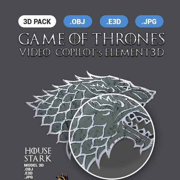 3D Pack Game Of Thrones