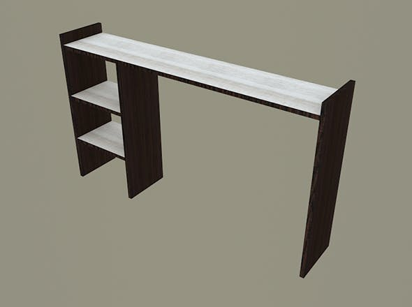 Table shelf 3 - 3DOcean Item for Sale