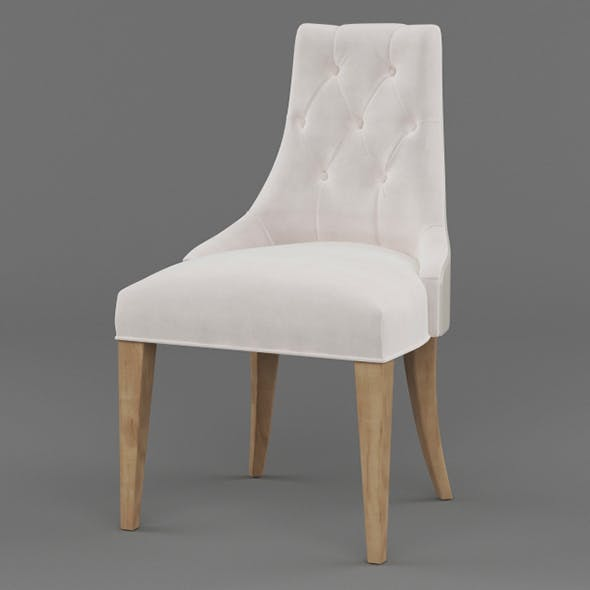 Vray Ready Wooden Chair