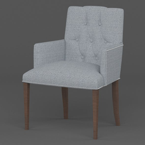 Vray Ready Dining Chair - 3DOcean Item for Sale