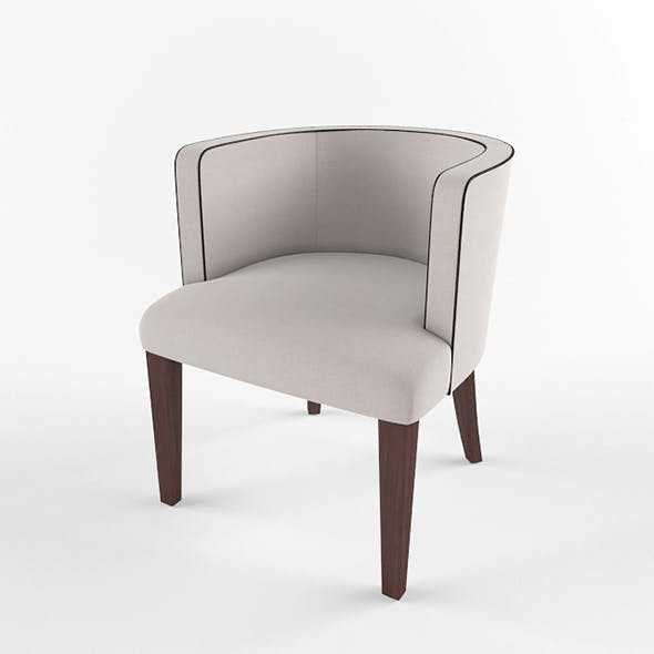 Vray Ready Round Armchair - 3DOcean Item for Sale