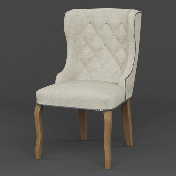 Vray Ready Wooden Armchair - 3DOcean Item for Sale