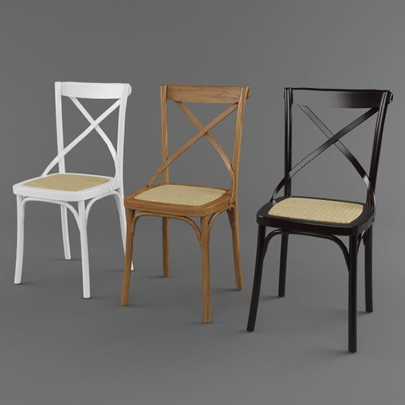 Vray Ready Modern Chair Collection - 3DOcean Item for Sale