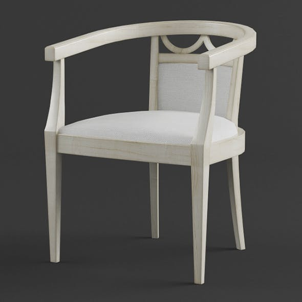 Vray Ready Modern Garden Chair