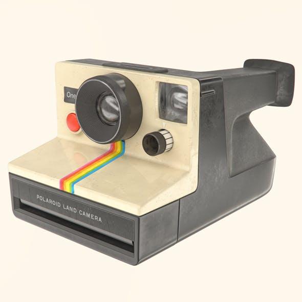 Polaroid OneStep instant camera - 3DOcean Item for Sale