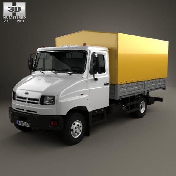 ZIL Bychok 5301 AO Truck 1996 - 3DOcean Item for Sale