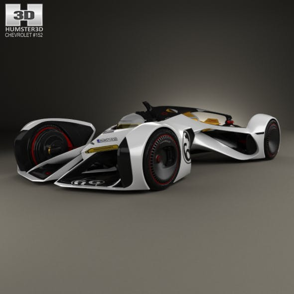 Chevrolet Chaparral 2X Vision Gran Turismo 2014 - 3DOcean Item for Sale