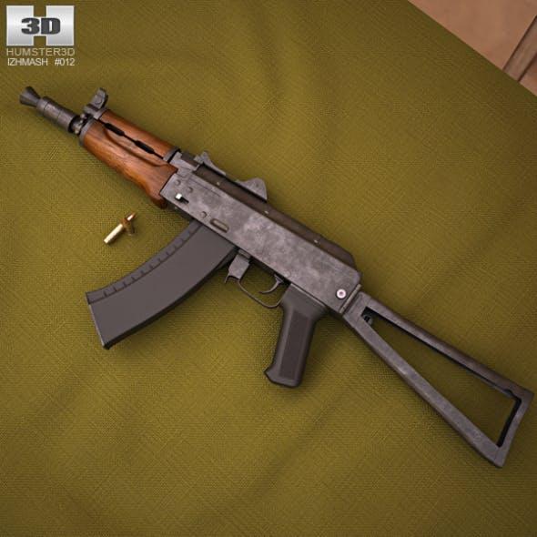 AKS-74U - 3DOcean Item for Sale