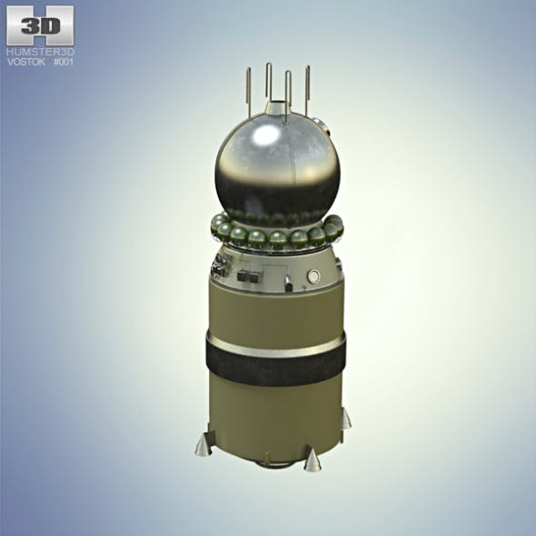 Vostok 1 - 3DOcean Item for Sale