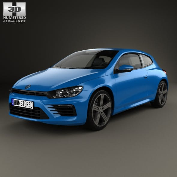 Volkswagen Scirocco R 2015 - 3DOcean Item for Sale