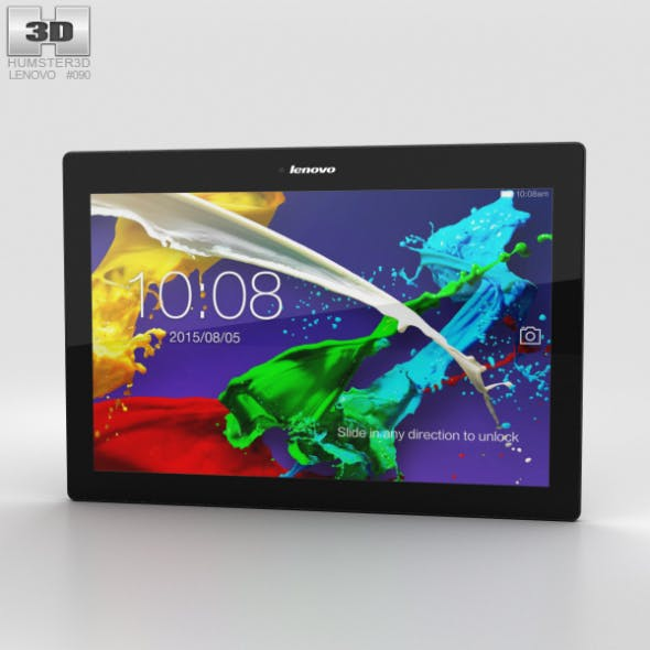 Lenovo Tab 2 A10-70 Midnight Blue - 3DOcean Item for Sale
